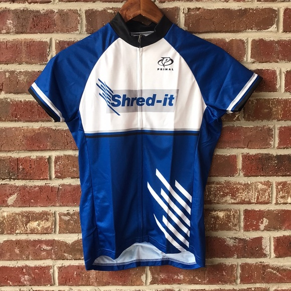 Women/'s Primal Cycling Jersey  3 Pockets Size S Full zip NWT